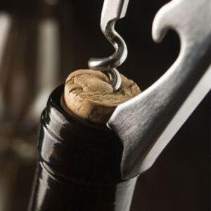 open a bottle of wine