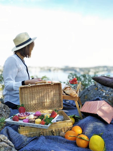 Ideas for French riviera picnic