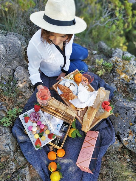Places to picnic French riviera