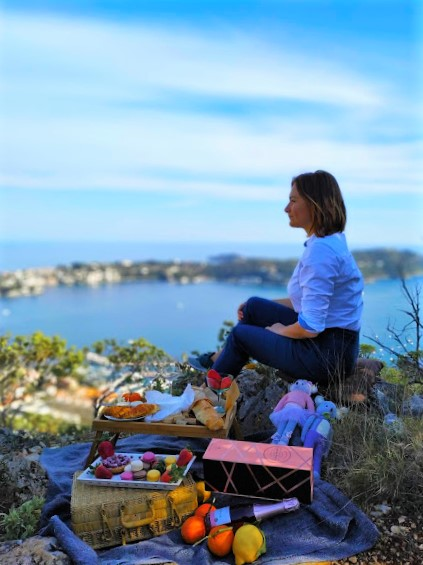picnic french riviera