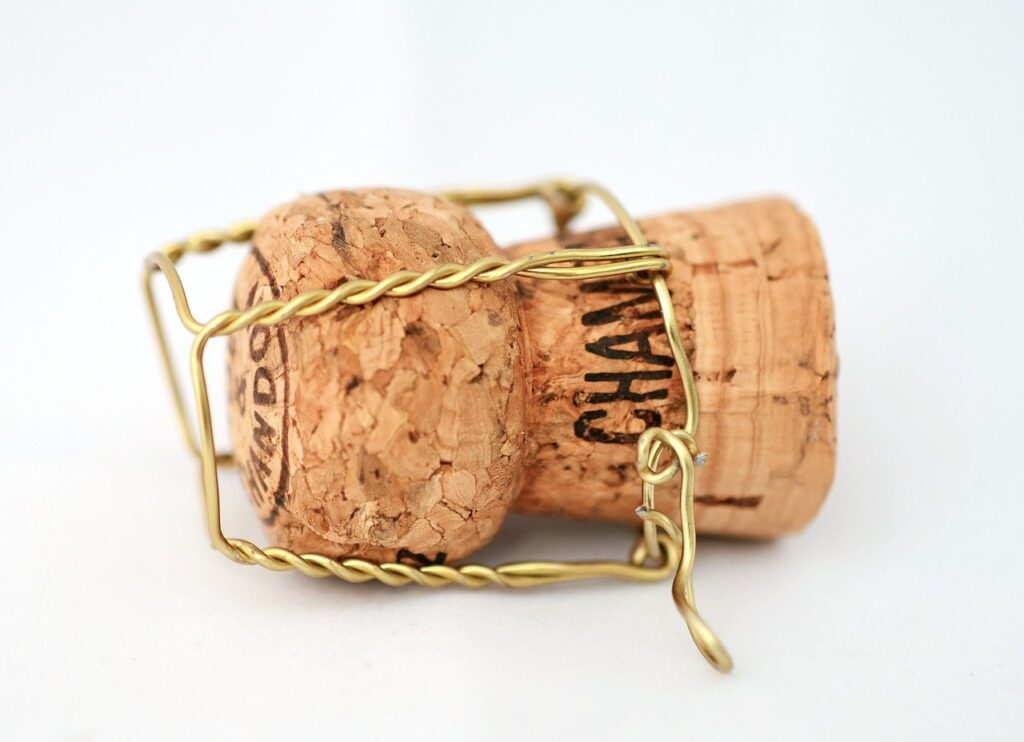 Cork for sparkling wines