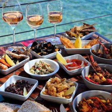 taste local food and wine